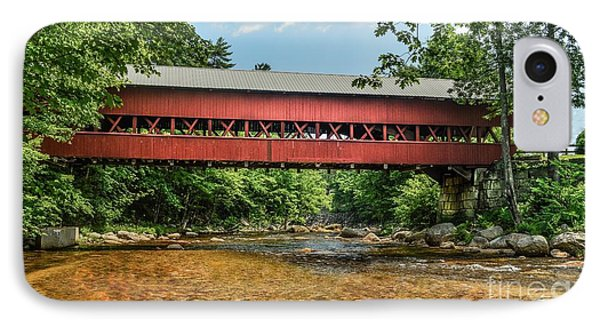 IPhone Case featuring the photograph Swift River Covered Bridge Hew Hampshire by Debbie Green