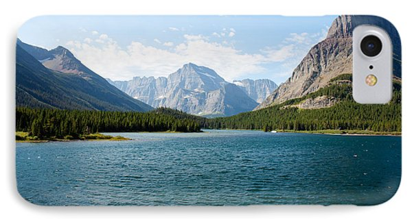 Swiftcurrent Lake Phone Case by John M Bailey