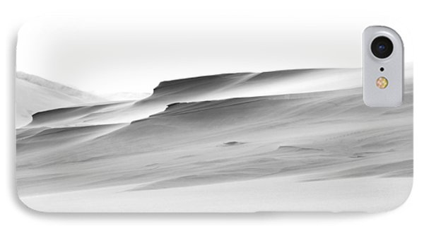 IPhone Case featuring the photograph Swiftly Moving Dunes by Adria Trail