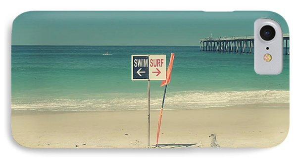 Swim And Surf IPhone Case by Laurie Search