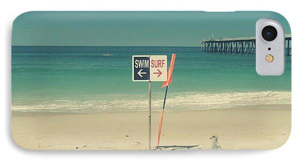 Swim And Surf IPhone Case