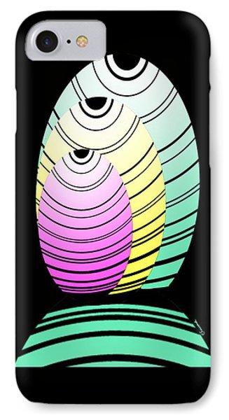 Swim Swim  Phone Case by Christine Fournier