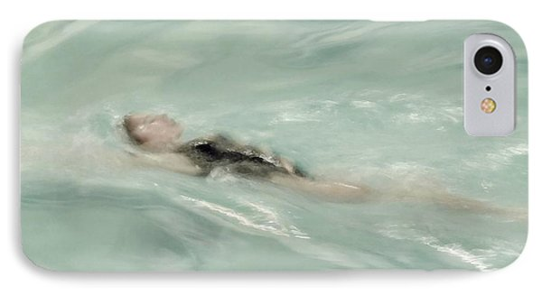 Swimmer IPhone Case by Patricia Strand