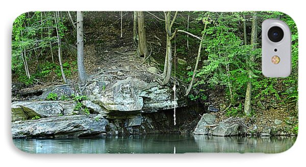 Swimming Hole At Rock Run IPhone Case