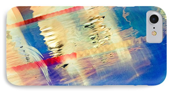 Swimming Pool 01b - Abstract Phone Case by Pete Edmunds