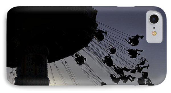 Swing Silhouette IPhone Case