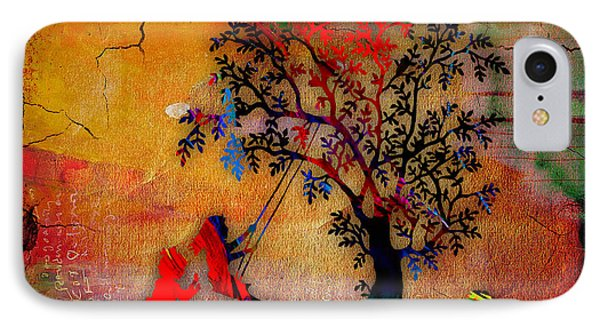 Swinging On A Tree IPhone Case by Marvin Blaine