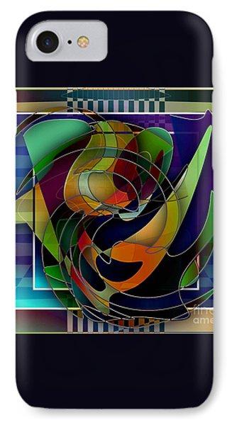Swirl IPhone Case by Iris Gelbart