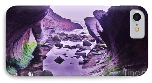 IPhone Case featuring the photograph Swirl Rocks 2 by John Williams