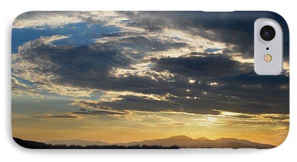 IPhone Case featuring the photograph Swirl Sky Landscape by Matt Harang