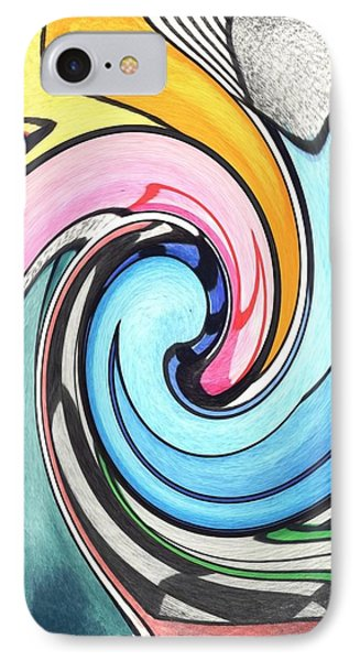 Swirled IPhone Case by Helena Tiainen