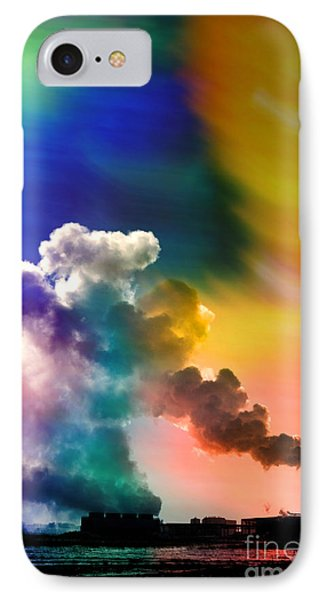 Swirling IPhone Case by R Kyllo