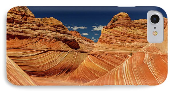 Swirling Sandstone Of The Wave IPhone Case by Chuck Haney