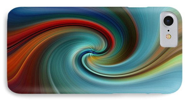IPhone Case featuring the photograph Swirling by Trena Mara