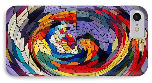 Swirls Phone Case by Gabriele Mueller