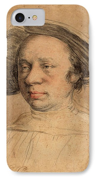 Swiss 16th Century After Hans Holbein The Younger IPhone Case by Quint Lox
