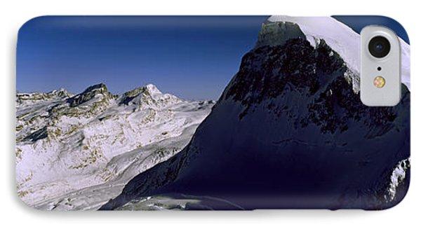 Swiss Alps From Klein Matterhorn IPhone Case