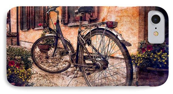 Swiss Bicycle Phone Case by Debra and Dave Vanderlaan