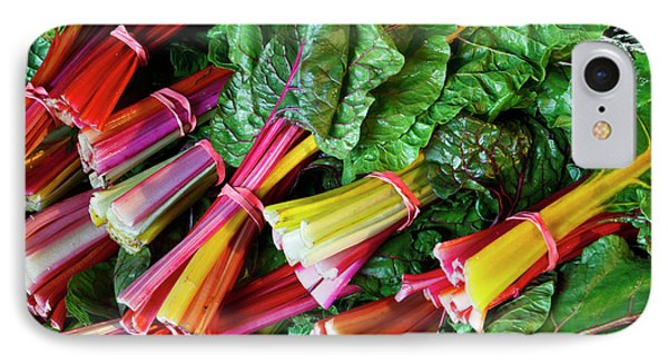 Swiss Chard At The Community Supported IPhone Case
