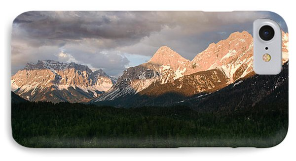 Swiss Impression With Mountains IPhone Case by Jaroslaw Blaminsky