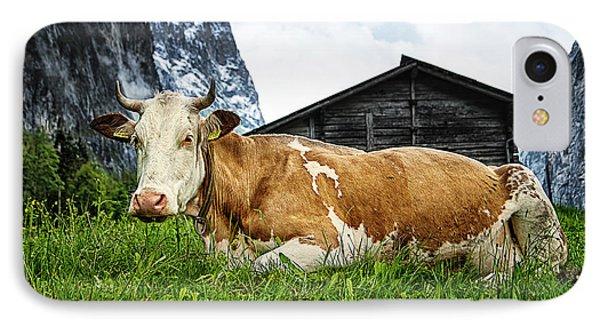 Swiss Miss IPhone Case by Ryan Wyckoff