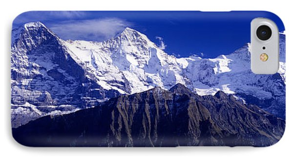 Swiss Mountains, Berner, Oberland IPhone Case by Panoramic Images