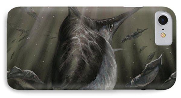 Sword Fish  IPhone Case by Yusniel Santos