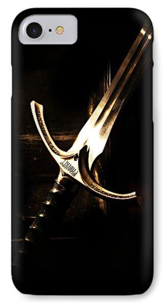 Sword Of Gandalf Phone Case by Christopher Gaston