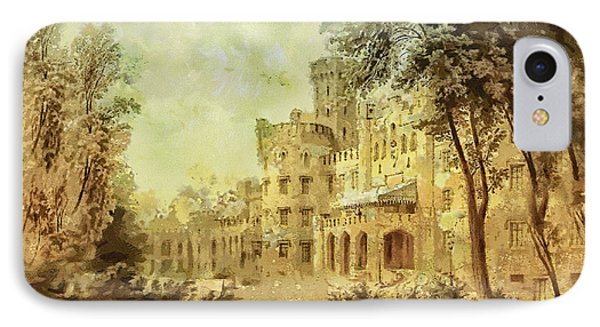 Sybillas Palace IPhone Case by Mo T
