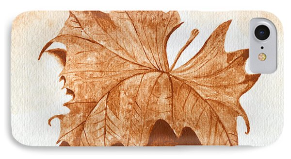 Sycamore #1 Oklahoma Red Dirt Artwork Tm Phone Case by Tanya Provines