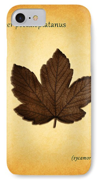 Sycamore IPhone Case by Mark Rogan
