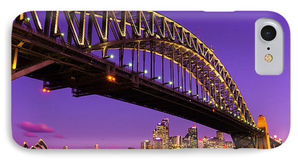 Sydney At Night IPhone Case by Andre Distel