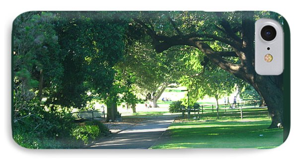 IPhone Case featuring the photograph Sydney Botanical Gardens Walk by Leanne Seymour