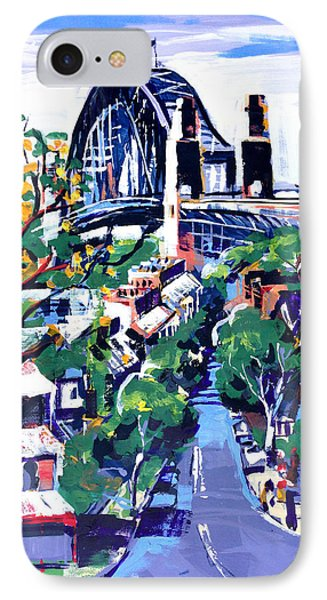 Sydney Daylight Phone Case by Shirley  Peters