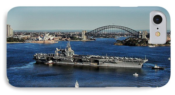IPhone Case featuring the photograph Sydney Harbor by John Swartz
