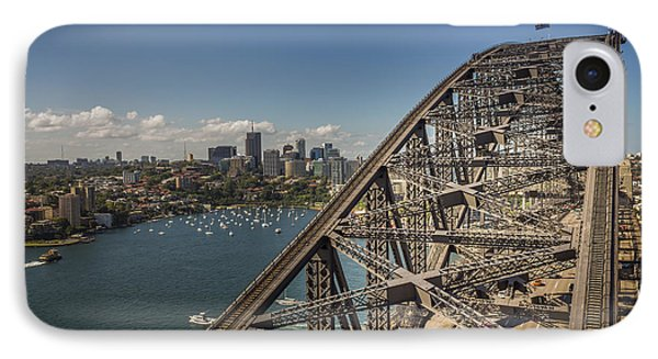 Sydney Harbour Bridge IPhone Case by Jola Martysz
