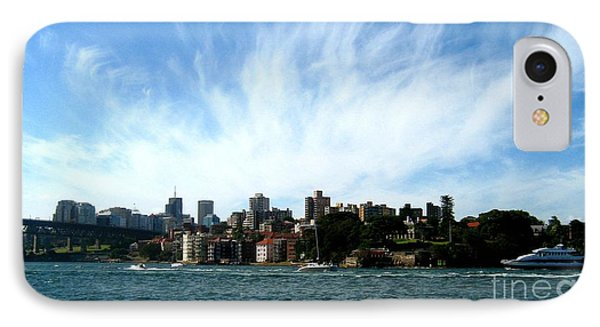 IPhone Case featuring the photograph Sydney Harbour Sky by Leanne Seymour