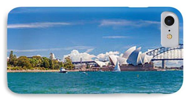 Sydney Harbour Skyline 1 IPhone Case