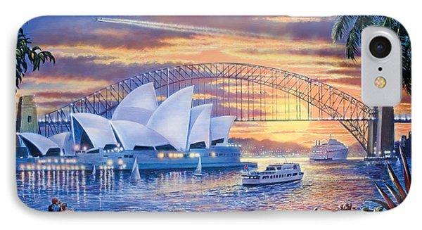Sydney Opera House IPhone Case by Steve Crisp