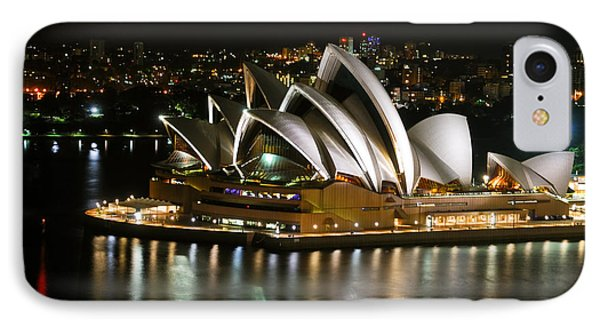Sydney Opera Phone Case by Syed Aqueel