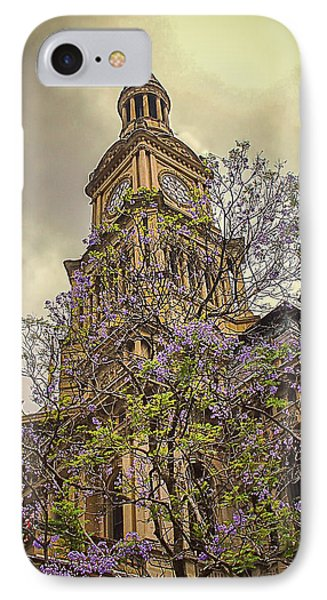 Sydney Town Hall IPhone Case by Julie Palencia