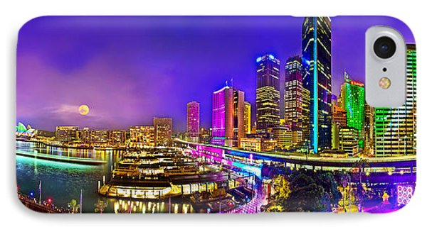 Sydney Vivid Festival IPhone 7 Case by Az Jackson