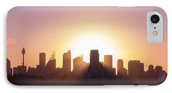 IPhone Case featuring the photograph Sydney's Evening by Jola Martysz