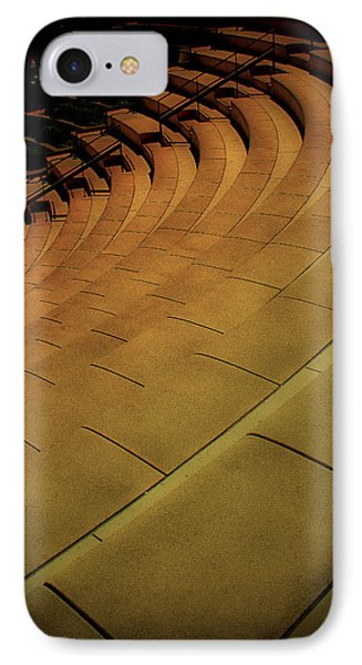 Symmetry Seating IPhone Case by Joseph Hollingsworth