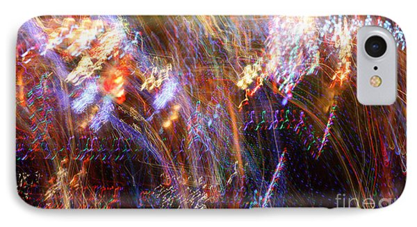 Symphonic Light Abstraction  Phone Case by Chris Anderson