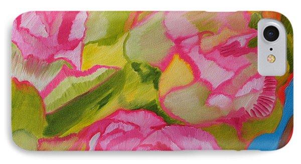 Symphony Of Roses IPhone Case by Meryl Goudey