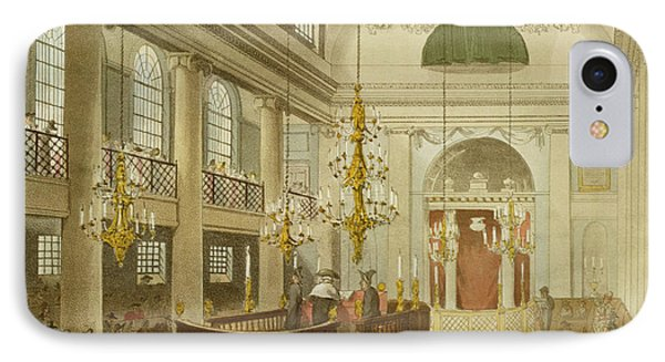 Synagogue At Dukes Place In Houndsditch IPhone Case