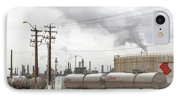 Syncrude Tar Sands Upgrader Plant IPhone Case by Ashley Cooper