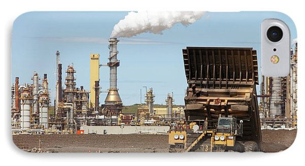 Syncrude Upgrader Plant IPhone Case by Ashley Cooper