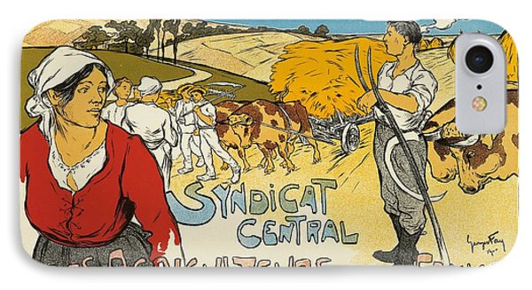 Syndicat Central Des Agriculteurs De France IPhone Case by George Fay